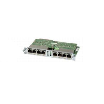 Cisco EHWIC-D-8ESG Eight port 10/100/1000 Ethernet Card