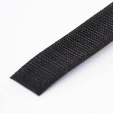 1 Wide Hook Type 10 Length VELCRO 1004-AP-PB//H Black Nylon Woven Fastening Tape Standard Back