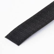 VELCRO 1002-AP-PB/H Black Nylon Woven Fastening Tape, Standard Back Sew-On Hook Only, 5/8'' Wide, 30 ' Length by VELCRO Brand