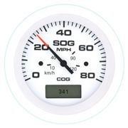 Arctic Series Gauge Dial Range 80 mph by Teleflex