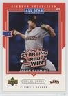 Js Collections A-line - Jason Schmidt (Baseball Card) 2004 Upper Deck Diamond Collection All-Star Lineup - Pick the Starting Lineups and Win! - Scratched #AS-JS