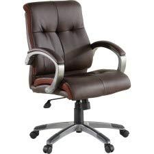 Lorell LLR62623 Managerial Chair, 42