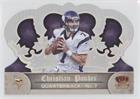 Christian Ponder #55/149 (Football Card) 2012 Crown Royale - [Base] - Silver Holo-Foil #91