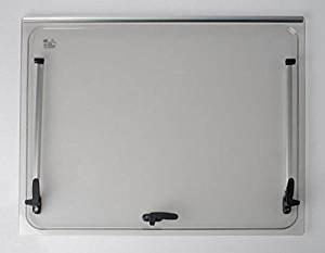 Vidrio de recambio 668x232 para ventana Seitz 700x300 - Accesorios incluidos - Autocaravana - Color: Gris NRF srl