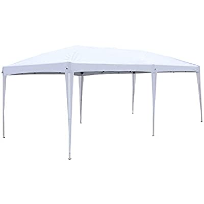 Realremhai Home Use Outdoor Camping Waterproof Folding Tent with Carry Bag White, 3 x 6m : Garden & Outdoor