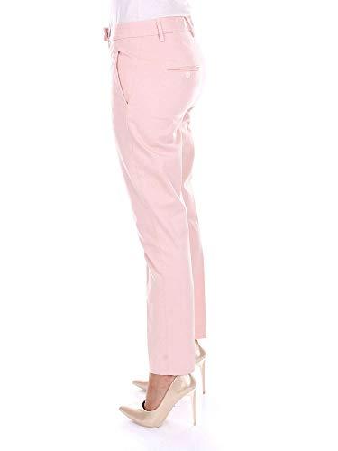 Dondup Algodon Dp288gs023dvptdpink Pantalón Mujer Rosa HHfwFB
