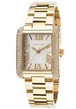 Michael Kors Mini Emery Pave Embellished Gold-Tone Stainless Steel Women's watch #MK3324
