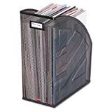(4 X ROL62560 - Rolodex Nestable Rolled Mesh Steel Jumbo Magazine File)