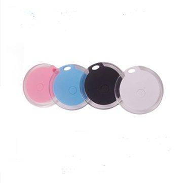 Pet Anti Lost Tracker Smart Finder Self-Portrait Bluetooth 4.0 Mini Pet Alarm Finder Locator - Cat Cat Collars & Leads - (white) - 1 Set Tackle -