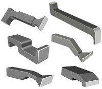 Aircraft Tool Supply Bucking Bar Set (6 Pieces)