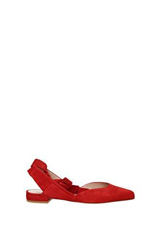 Mujer Stuart Rojo Bailarines Supersonic Bailarinas Rojo Weitzman H7wf7q6