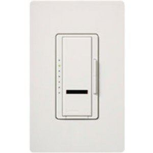 Dimmer Switch 600W Multi-Location Maestro IR Wireless Electronic Low Voltage Light Dimmer White-2PK