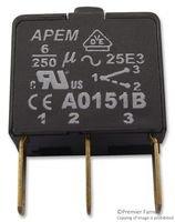 CONTACT BLOCK, SPCO A0151B By APEM A0151B-APEM