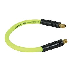 2' Swivel Whip Hose (Legacy Manufacturing (LEGHFZ1202YW3S) Zilla Whip 1/2 in x 2 ft swivel whip hose 3/8 NPT)