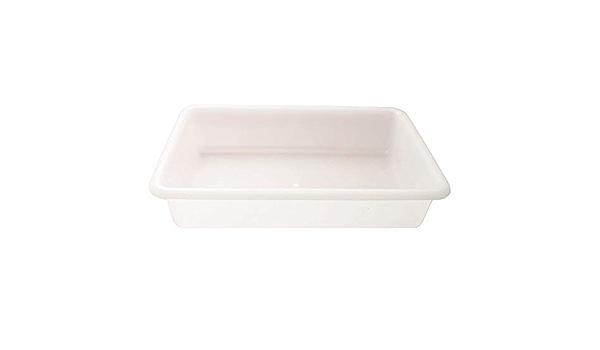 CABLEPELADO Bandeja para hosteleria 6 litros Blanco