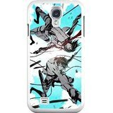 HD Exquisite image For Samsung Galaxy S4 9500 Cell Phone Case White mikasa ackerman and eren yeager attack on titan (Mikasa Mobile)