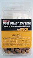 """PRO-PLUG System - For Tigerwood - 100 pc Component PackPlugs Only - 5/16"""" diameter"""
