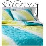 Xhilaration Tie Dye Quilt - Turquoise Full/Queen