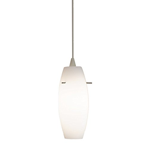 WAC Lighting JTK-F4-451WT/BN Bongo Line Voltage Track Pendant, Brushed Nickel