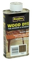Rustin's Wdwa250 Wood Dye Walnut 250ml RUSTIN' S