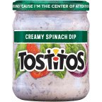 Mix Jar Dip (Tostitos Creamy Spinach Dip, 15 oz. Jar (1))
