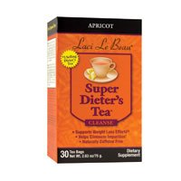 Dieters Apricot Super (Pack of 3 x Laci Le Beau Super Dieter's Tea Apricot - 30 Tea Bags)