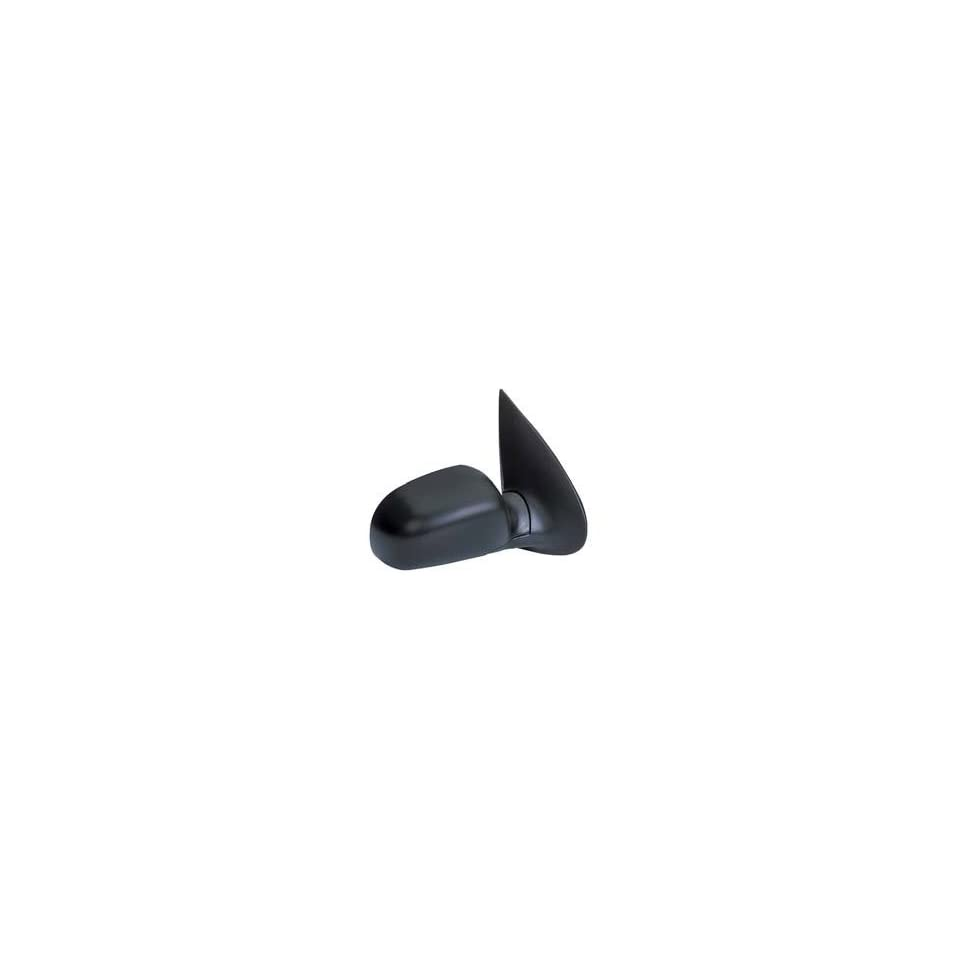 KAP FO1321170 New 1998 Ford Windstar Passenger Side Mirror Electric Power Folding Gloss Black Right Door Replacement