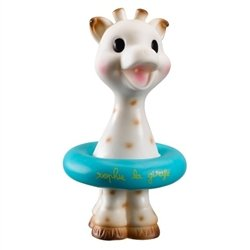 Sophie the Giraffe Squirting Bath Toy ~ Blue