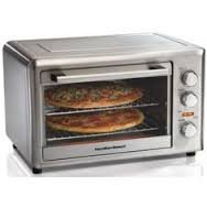 Countertop Oven w/ Convection and Rotisserie with Adjustable Rack and Heatproof Handles