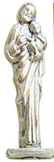 Westman Works St Joseph Home Seller Kit Metal Pocket Statue with Holy Card and Instructions ()