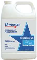 Floor Purpose - RENOWN GIDDS-REN02805-MS 1 gallon General Purpose Floor Cleaner