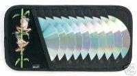 Frog Visor - Tree Frogs CD/DVD Visor Organizer - Holds 10 CD's or DVD's