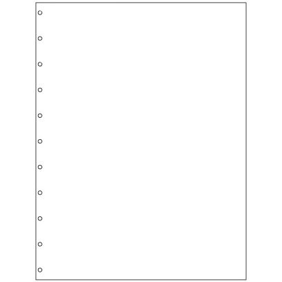 9749000G Velobind Paper Pre Punched 11 holes for Velo Bind 20# White 5000 Sheets by GBC