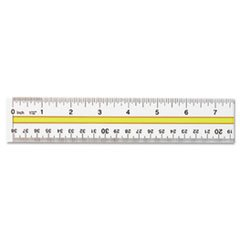 (3 Pack Value Bundle) ACM10580 Acrylic Data Highlight Reading Ruler With Tinted Guide, 15