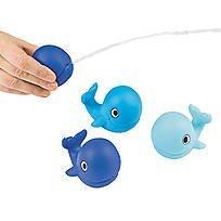 Lil Whale - Lil Sailor Whale Squirt Toys 1 Dozen