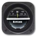 Explorer Bulkhead (Ritchie V-537 Explorer Compass - Bulkhead Mount - Black Dial by E.S. Ritchie)