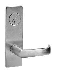 Corbin Russwin ML2024-NSM Entrance/Storeroom Mortise Lock Newport Lever/Escutcheon Trim w/ ()