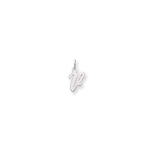 Rose Initial Charm - 6
