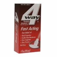 4-Way Fast Acting Nasal Spray, 1 fl oz - 2pc