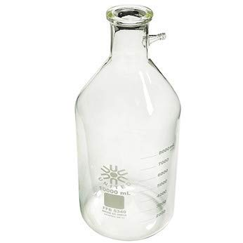 United Scientific Supplies FFB5340-10000 Borosilicate Glass Filtering Bottle/Flask, 10000 ml Capacity by United Scientific Supplies