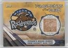 Pitcher's Mound Rubber from Security Bank Park #/50 (Baseball Card) 2017 Topps Pro Debut - Fragments of the Farm Relics - Gold #FOTF-MR