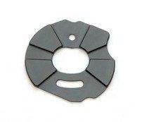ST Racing Concepts ST3691GM Aluminum Heatsink Motor Plate Slash, Rustler and Stampede (Gun Metal)