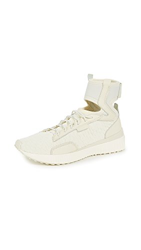 PUMA Women's Fenty x Trainer Mid Geo Sneakers, Vanilla Ice/Sterling Blue, 10 B(M) US