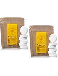 Bath and Body Works 2 Pack Happiness - Bergamot & Mandarin In Shower Steamer. 0.8 Oz.
