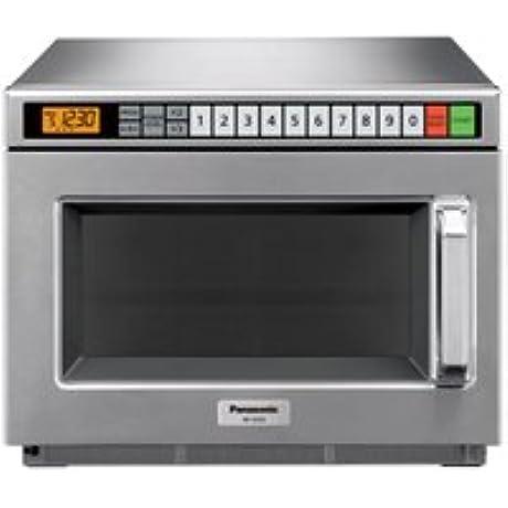 Panasonic 0 6 Cu Ft 1700 Watt TouchPad Commercial Microwave