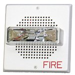 Wheelock Ch70-24Mcw-Fw Ch70-24Mcw White Wall Mount Fire Alarm Signal Chime Strobe