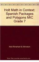 Descargar Libro Holt Math In Context: Spanish Packages And Polygons Mic Grade 7 Holt Rinehart & Winston