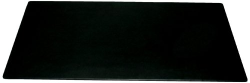 Dacasso Black Leather Desk Mat, 30-Inch by 19-Inch by Dacasso