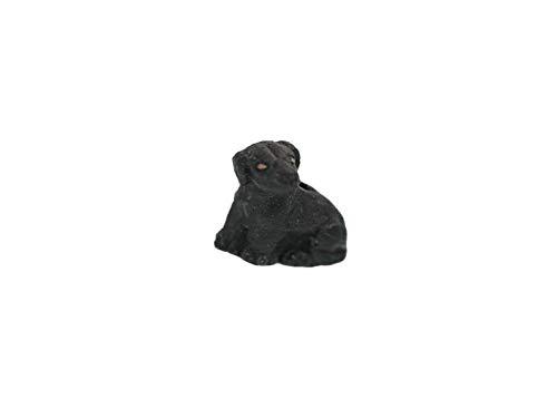 (Hand Painted Labrador Retriever Ceramic Beads, Choice of Color for Earrings )