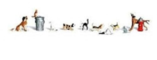 Woodland Scenics O Dogs & Cats WOOA2725 Woodland Scenics Dogs